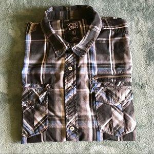 Men's Casual Button Down Shirt